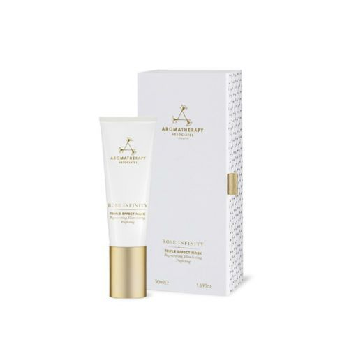 Aromatherapy Associates Rose Infinity Triple Effect Mask (50ml) - Regenerating, Illuminating, Perfecting