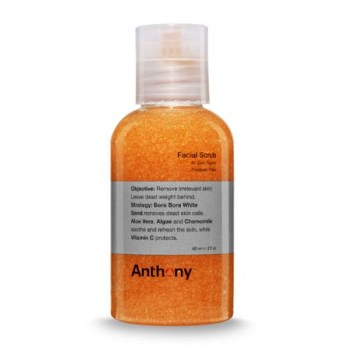 Anthony Logistics Travel Facial Scrub (60ml)