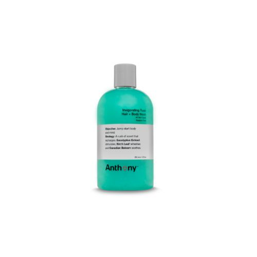 Anthony Logistics Travel Size Invigorating Rush Hair & Body Wash