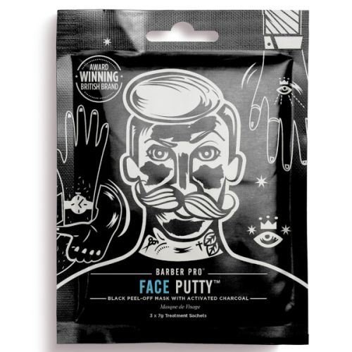 Barber Pro Face Putty Peel-off Black Mask