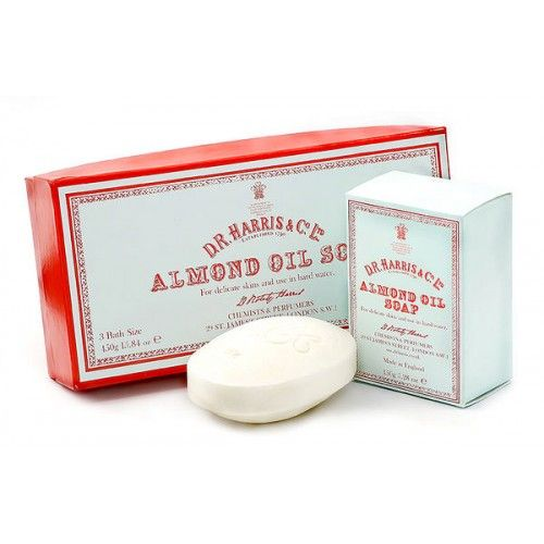 D R Harris Almond Oil Hand Soap (Single)
