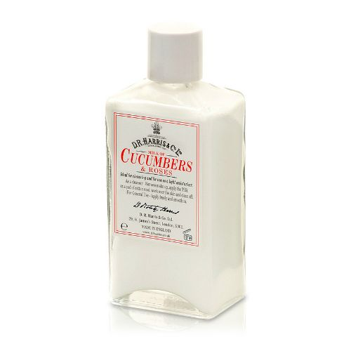 D R Harris Milk of Cucumber & Roses (100ml)