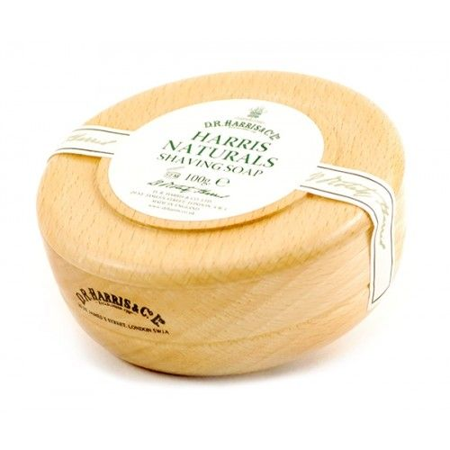 D R Harris Natural Shaving Soap Beech Bowl (100g)