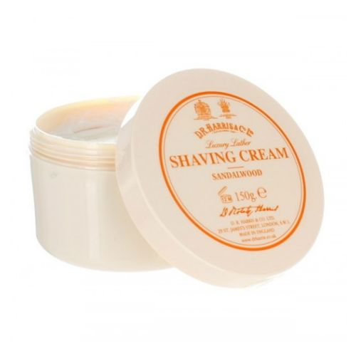 D R Harris Sandalwood Shave Cream Bowl