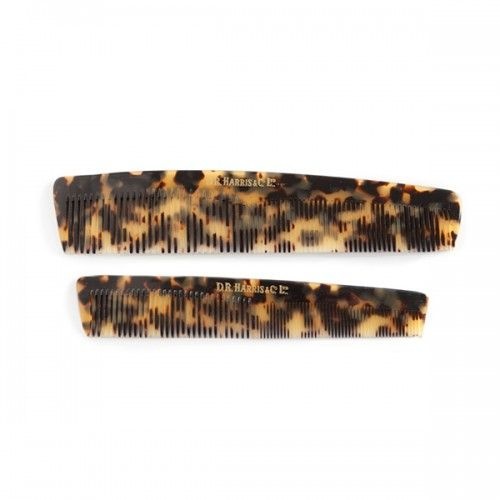 D R Harris Imitation Tortoise Shell Hair Comb