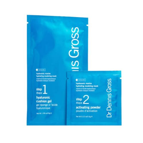 Dr Dennis Gross Hyaluronic Marine Hydrating Modeling Mask - 4 treatments