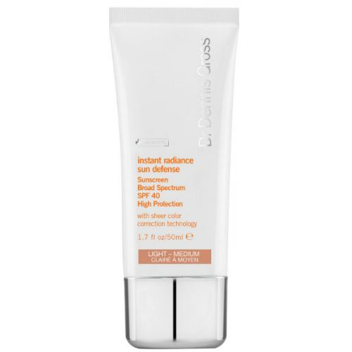 Dr Dennis Gross Instant Radiance Sun Defense SPF40 Light-Medium
