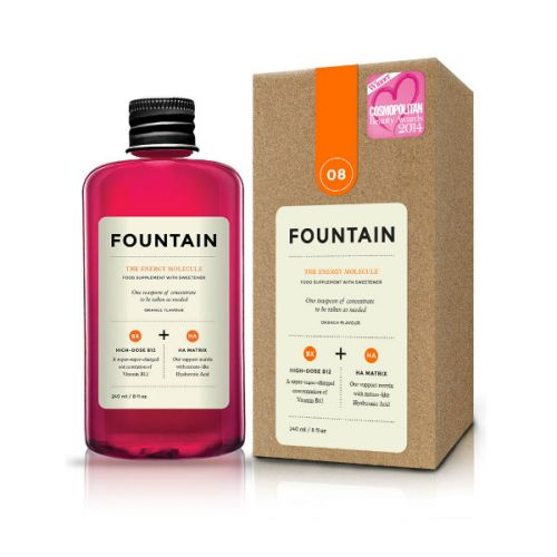 Fountain The Energy Molecule Orange Flavoured Dietary Supplement with Sweetener (240ml)