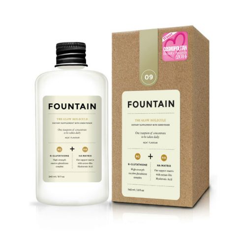 Fountain The Glow Molecule Acai Flavoured Dietary Supplement with Sweetener (240ml)