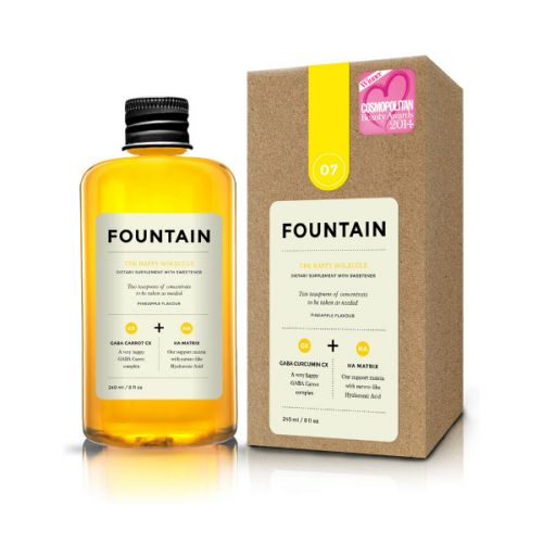 Fountain The Happy Molecule Pineapple Flavoured Dietary Supplement with Sweetener (240ml)