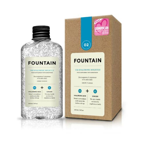 Fountain The Hyaluronic Molecule Ginger Flavoured Dietary Supplement with Sweetener (240ml)