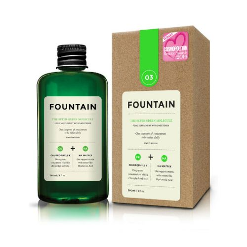 Fountain The Super Green Molecule Kiwi Flavoured Dietary Supplement with Sweetener (240ml)