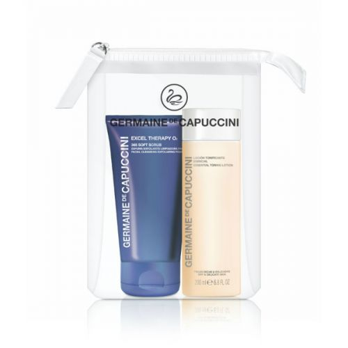 Germaine de Capuccini Excel O2 365 Soft Scrub and Essential Toner Duo Set (25% saving)