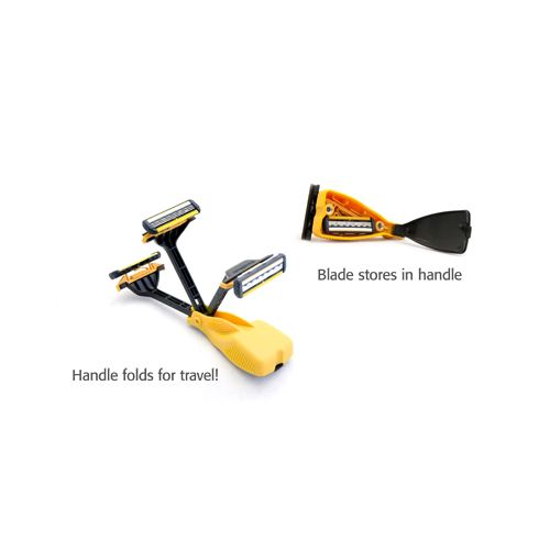HeadBlade Face Blade Folding Travel Razor