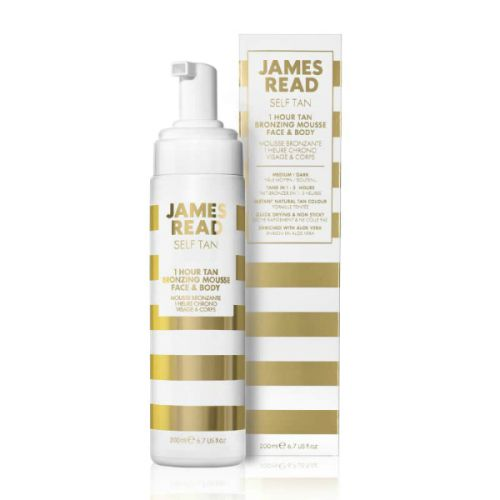 James Read Self Tan 1 Hour Tan Bronzing Mousse Face & Body