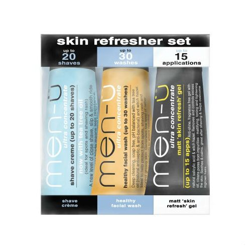 Men-U Skin Refresher Set - 3 x 15ml