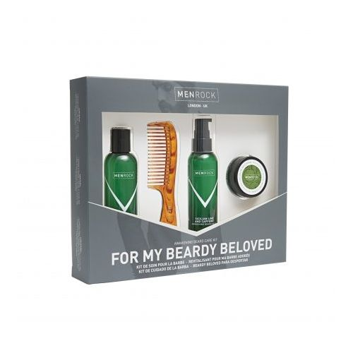 Men Rock For My Beardy Beloved Beard Care Set - Awakening