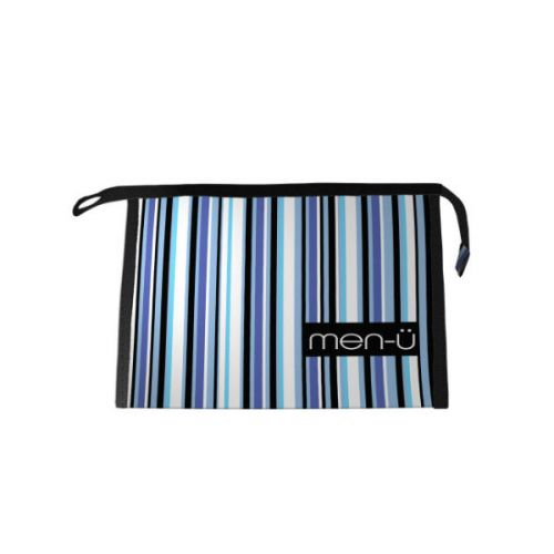 Men-U Striped Wash Bag