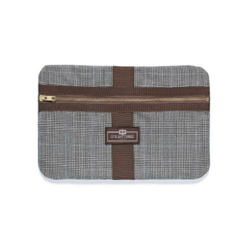 Otis Batterbee Medium Classic Envelope - Prince of Wales Check