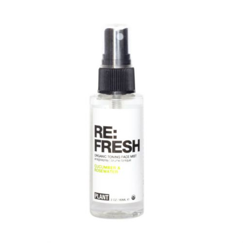 Plant Apothecary Refresh Organic Toning Face Mist with Cucumber and Rose Water (60ml)