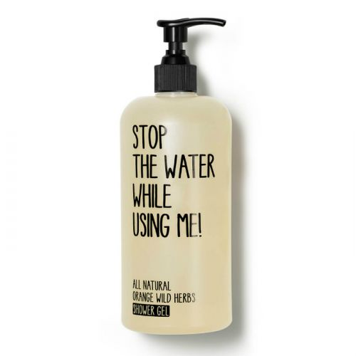 Stop The Water While Using Me All Natural Orange Wild Herbs Shower Gel (500ml)