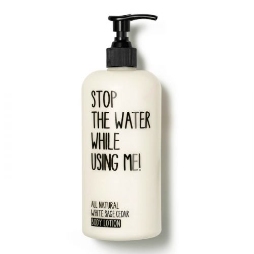 Stop The Water While Using Me White Sage Cedar Body Lotion