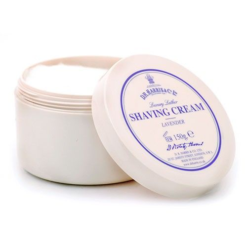 D R Harris Shave Cream Bowl - Lavender (150g)