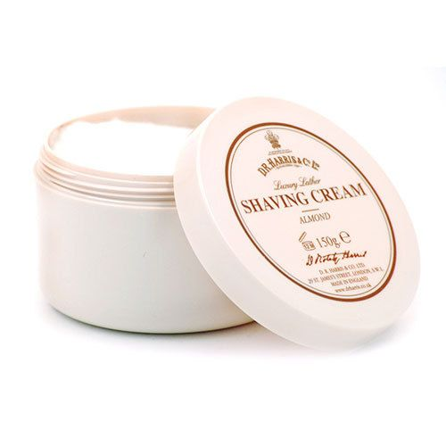 D R Harris Shave Cream Bowl - Almond (150g)