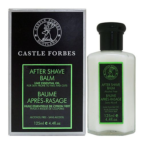Castle Forbes Lime Essential Oil After Shave Balm 125ml