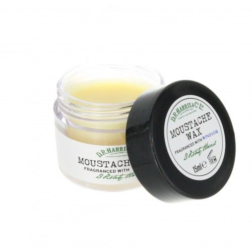 D R Harris Moustache Wax fragranced with Windsor