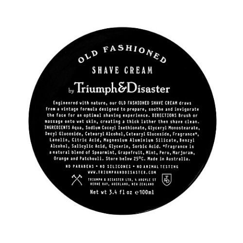 Triumph & Disaster Old Fashioned Shave Cream - Jar