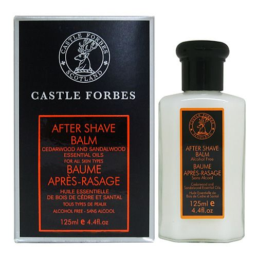 Castle Forbes Cedarwood & Sandalwood Essential Oil Aftershave Balm 125ml