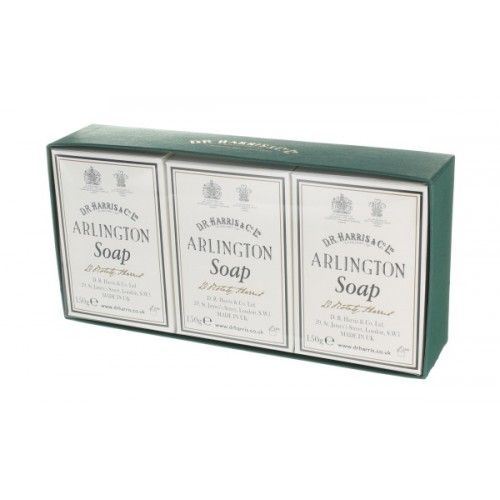 D R Harris Arlington Bath Soap Trio (3 x 150g)