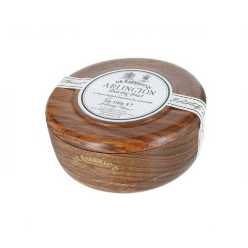 D R Harris Arlington Mahogany Shave Soap Bowl