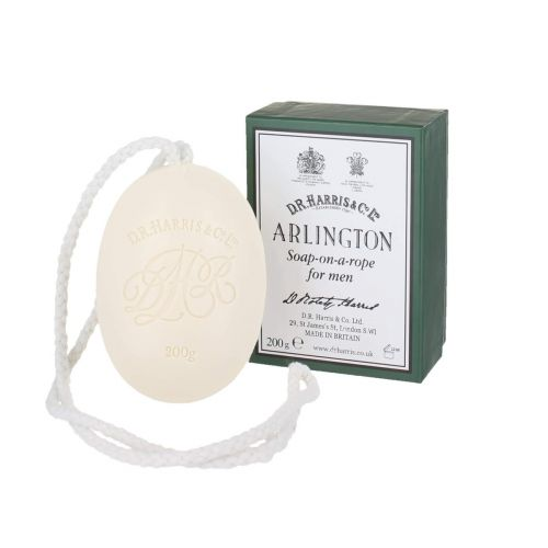 D R Harris Arlington Soap On A Rope (200g)