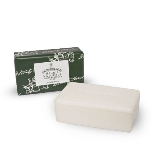 D R Harris Naturals Lemon & Ginger Soap (200g)