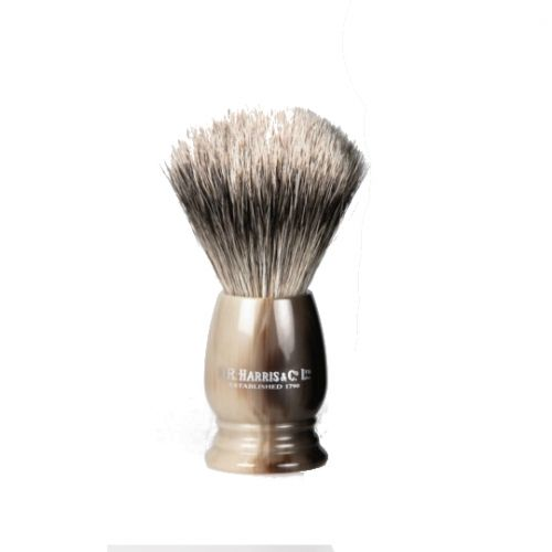 D R Harris S1 Shaving Brush Horn (19mm / Small)