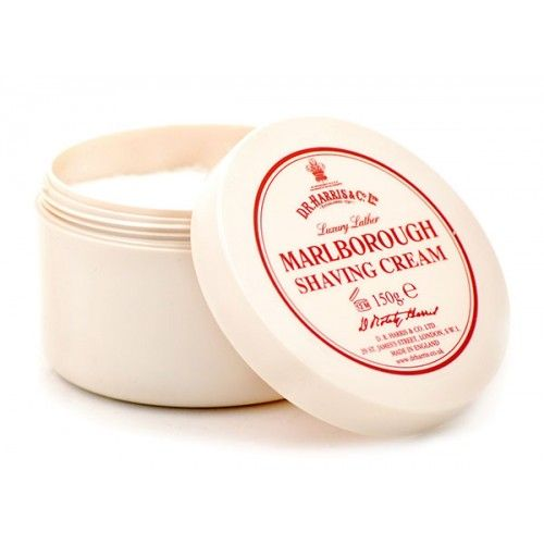 D R Harris Luxury Shaving Cream Bowl - Marlborough (150g)