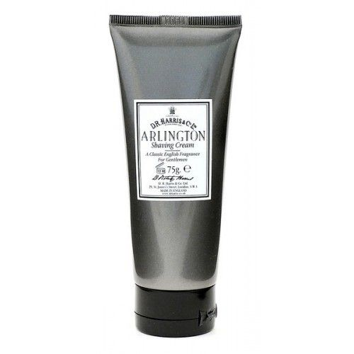 D R Harris Luxury Shaving Cream Tube - Almond (75g)