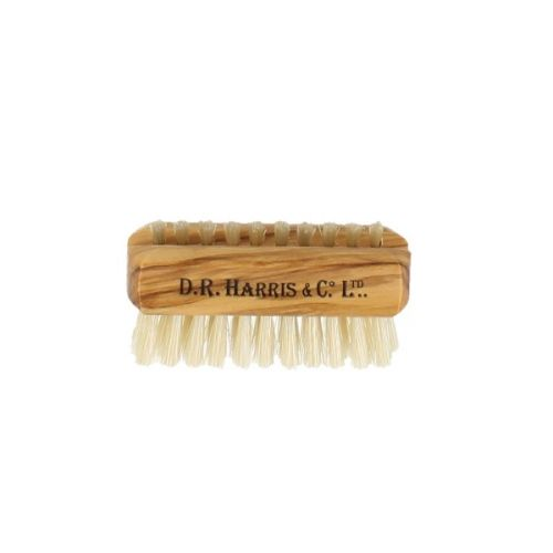D R Harris Olive Wood Nail Brush - Small