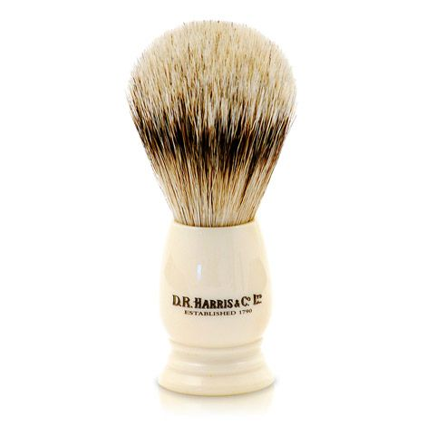 D R Harris S1 Shaving Brush Ivory (19mm / Small)