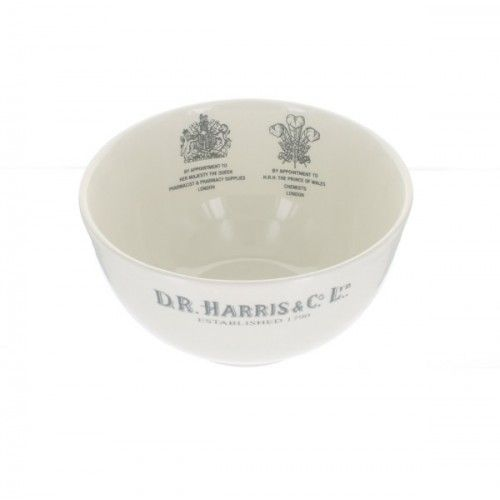 D R Harris Earthenware Shaving Bowl