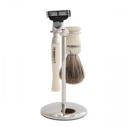 D R Harris Wet Shave Starter Set - Ivory
