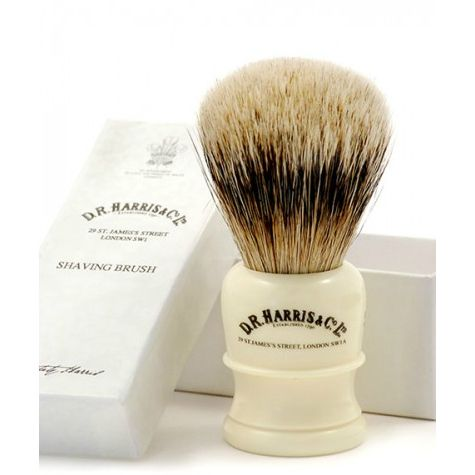 D R Harris H1 Ivory Shaving Brush (Small)