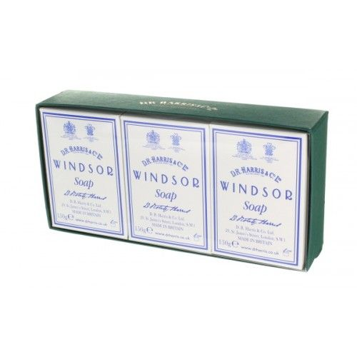 D R Harris Windsor Bath Soap Trio (3 x 150g)