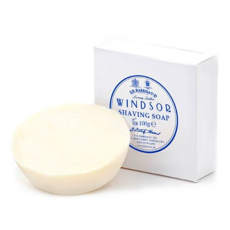 D R Harris Shave Soap Refill - Windsor (100g)