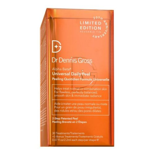 Dr Dennis Gross 20th Anniversary Alpha Beta Peel Tin Extra Strength (35 Treatments)