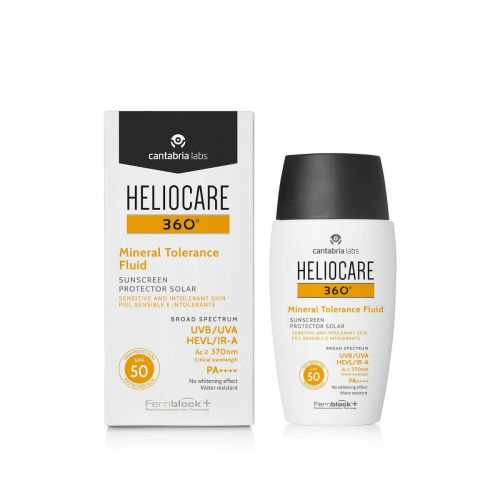 Heliocare Mineral Tolerance Fluid SPF 50
