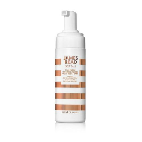 James Tan Read Self Tan Fool Proof Bronzing Mousse Face & Body - Dark