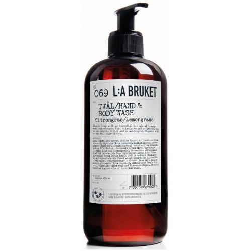 L:A Bruket Lemongrass Hand & Body Wash - 450ml (Large)